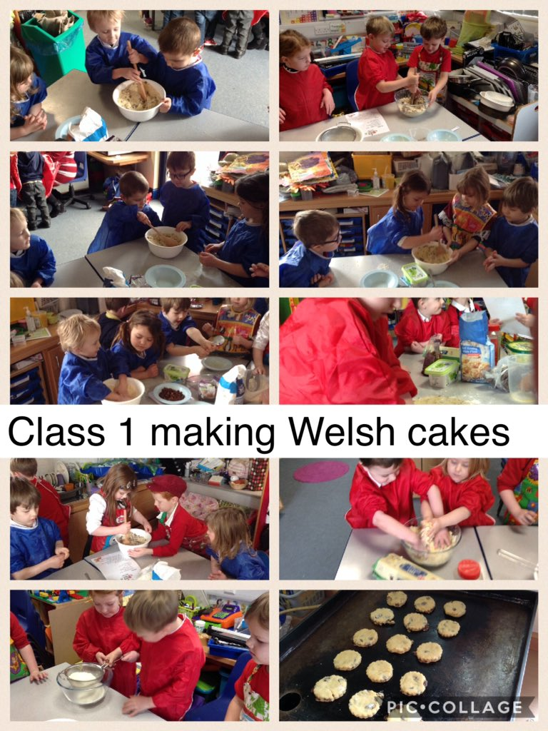 Class 1 Welsh Cakes